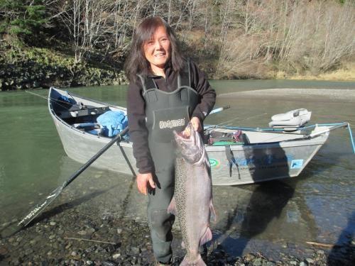 Roaring Fork Guide Service Late season Fishing on the Elk ...
