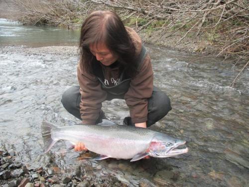 Roaring fork guide service alsea river archives roaring for Siletz river fishing report